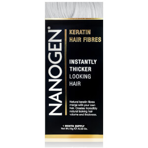 Nanogen Hair Thickening Fibers White (0.5 oz.)