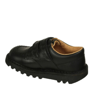Kickers Kids' Kick Lo Velcro Strap Shoes - Black: Image 2