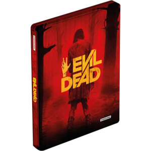 Evil Dead - Zavvi UK Exclusive Limited Edition Steelbook (Includes DVD)