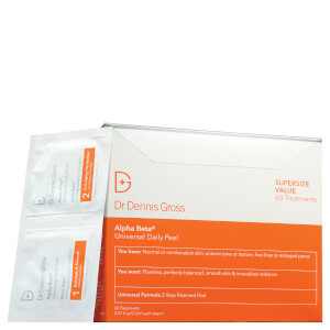 Dr Dennis Gross Skincare Alpha Beta Universal Daily Peel (συσκευασία των 60)