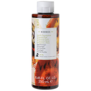 KORRES Natural Bergamot Pear -suihkugeeli 250ml