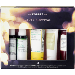 KORRES All New Party Survival Kit (5 Products)