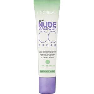巴黎欧莱雅Nude Magique抗红 CC 霜