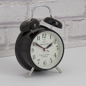 Newgate Covent Garden Medium Clock - Black