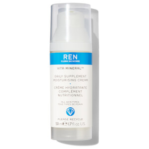 REN Clean Skincare Vita Mineral Daily Supplement Moisturising Cream 50ml