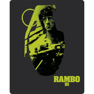 Rambo III - Zavvi UK Exclusive Limited Edition Steelbook