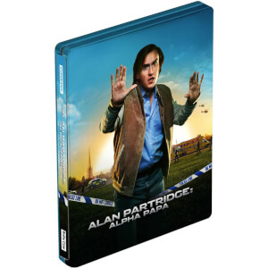 Alan Partridge: Alpha Papa - Edición Steelbook - Double Play (Blu-ray y DVD)