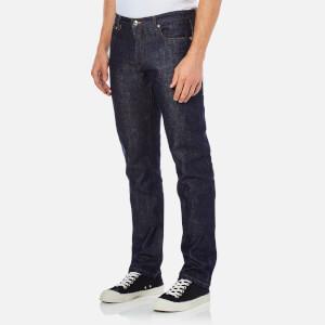 A.P.C. Men's Petit Standard Mid Rise Jeans - Selvedge Indigo: Image 2