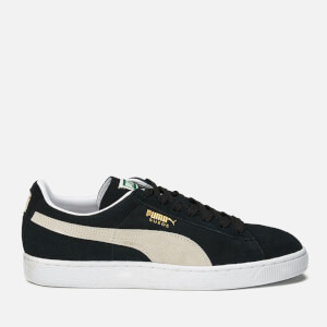 Puma Men's Basket Classic LFS Trainers - Black/White