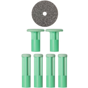 PMD Mixed Green Replacement Discs - 6 Pack