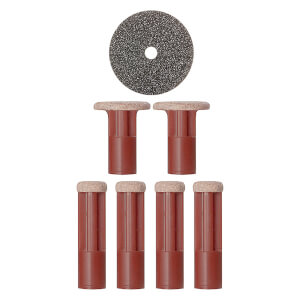 PMD Mixed Red Replacement Discs - 6 Pack