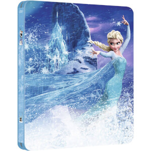 Frozen 3D - Zavvi UK Exclusive Limited Edition Steelbook (The Disney Collection #12) (Includes 2D Version)