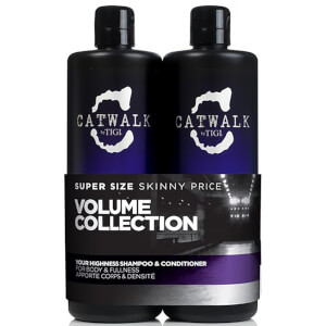 Catwalk Your Highness Tween da TIGI (2x750 ml) (no valor de £ 55,90)