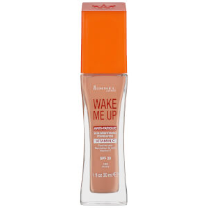 Rimmel Wake Me Up Foundation 30ml (Various Shades)