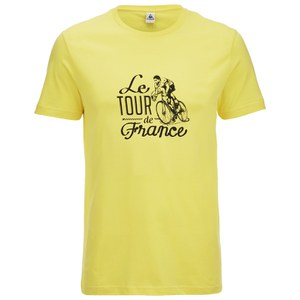 Le Coq Sportif Tour de France N10 Short Sleeved T-Shirt - Yellow