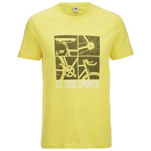 Le Coq Sportif Tour de France N12 Short Sleeved T-Shirt - Yellow
