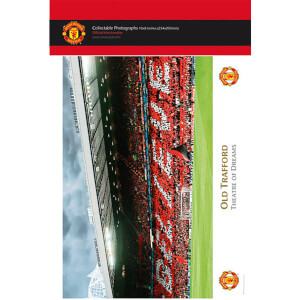 "Manchester United Old Trafford Interior - 10"""" x 8"""" Bagged Photographic"