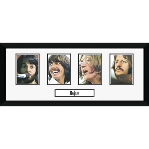 "The Beatles Storyboard - 30"""" x 12"""" Framed Photographic"