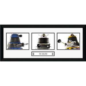 "Doctor Who Daleks - 30"""" x 12"""" Framed Photographic"