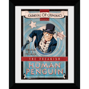 Batman Circus Human Penguin - 30 x 40cm Collector Prints