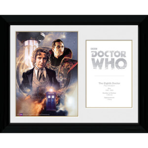 Doctor Who 8th Doctor Paul McGann - 30 x 40cm Collector Prints