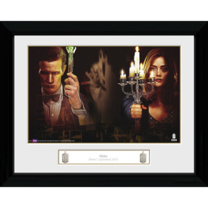 Doctor Who Hide - 30 x 40cm Collector Prints