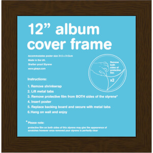 Walnut Frame Album - 12