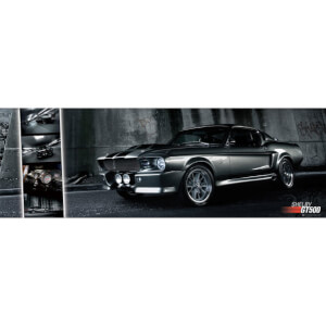 Ford Shelby Mustang GT500 - Door Poster - 53 x 158cm