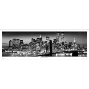 New York Manhattan Black - Berenholtz - Door Poster - 53 x 158cm