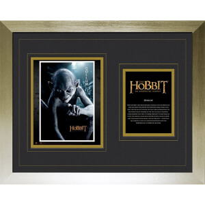 The Hobbit Gollum - High End Framed Photo - 16