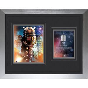 """Doctor Who Daleks - High End Framed Photo - 16"""""""" x 20"""""""