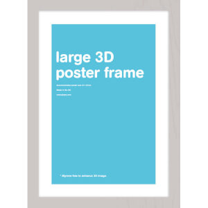 Silver Frame Lenticular - 47 x 67cm