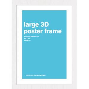 White Frame Lenticular - 47 x 67cm
