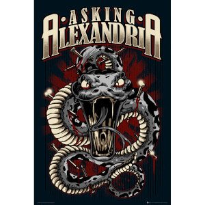 Asking Alexandria Snake - Maxi Poster - 61 x 91.5cm