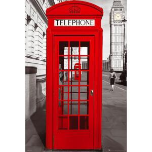 London Telephone Box - Maxi Poster - 61 x 91.5cm