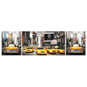 New York Taxis - Midi Poster - 30.5cm x 91.5cm