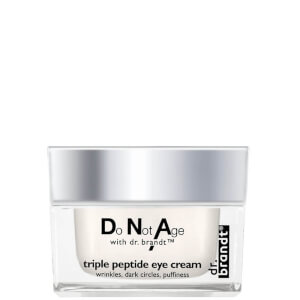 Crema contorno de ojos péptido triple Dr Brandt Do Not Age (15g)