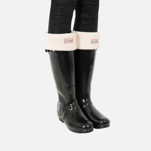 Hunter Women's Original Tall Gloss Wellies - Black: Image 6