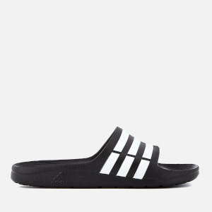 adidas Duramo Slide Sandals - Core Black