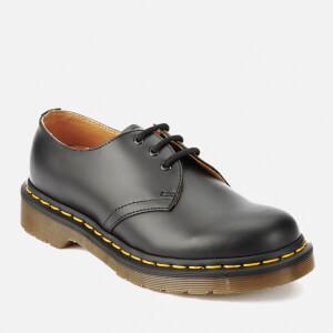 Dr. Martens 1461 Smooth Leather 3-Eye Shoes - Black: Image 5