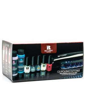 Kit de iniciación para uñas de gel de Red Carpet Manicure