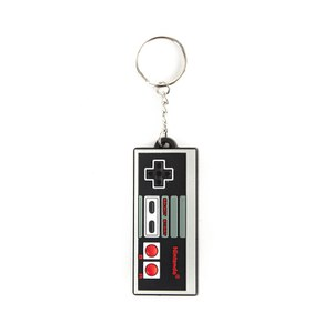 NES Controller - Rubber Keychain