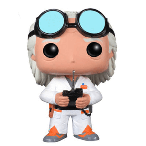 Back to the Future Doc Brown Pop! Vinyl Figur