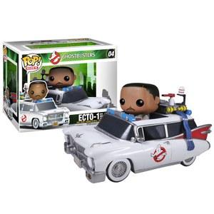 Ghostbusters Zeddemore with Ectowagon Funko Pop! Vinyl