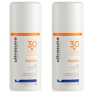 Dúo Ultrasun Family SPF 30 Super Sensitive (2 x 100 ml)