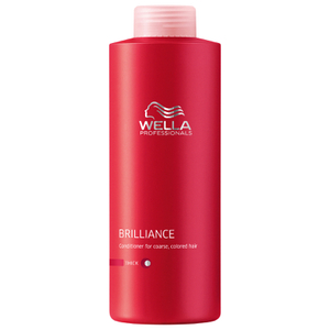 Balsamo per capelli spessi Wella Professionals Brilliance (1000ml) (del valore di £ 58,50)