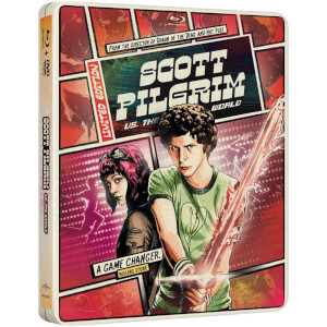 Scott Pilgrim Vs. The World - Import - Limited Edition Steelbook (Region Free) (UK EDITION)