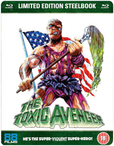 The Toxic Avenger - Zavvi Exclusive Limited Edition Steelbook (UK EDITION)