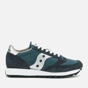Saucony Men's Jazz Original Trainers - Navy/Silver