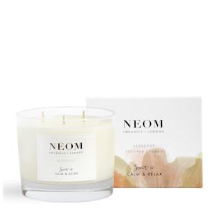 Świeca zapachowa z 3 knotami NEOM Sensuous